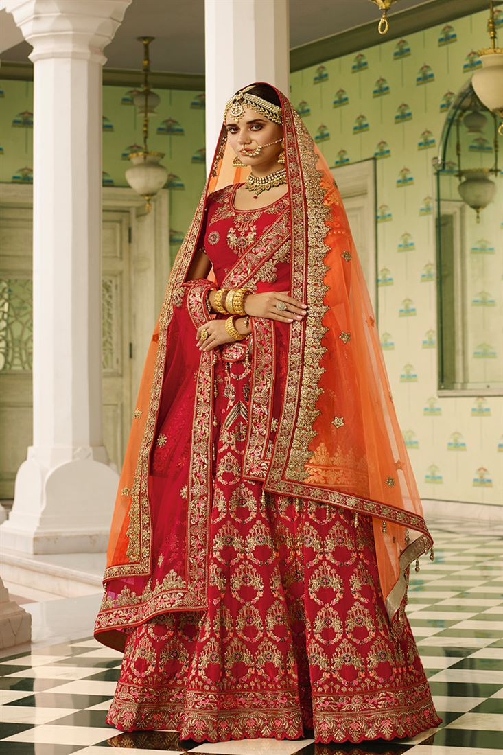 3061eafe2d3 Pakistani Bridal Dresses In Red Color - Data Dynamic AG
